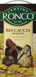 Вино cтоловое белое сухое  «Becaccia Bianco»