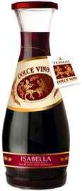 Вино красное полусладкое «Dolce Vino Isabella»