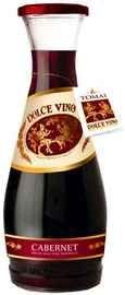 Вино красное полусладкое «Dolce Vino Cabernet»