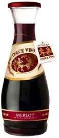 Вино красное полусладкое «Dolce Vino Merlot»