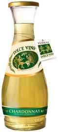 Вино белое полусладкое «Dolce Vino Chardonnay»