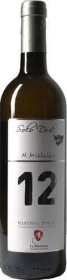 Вино белое сухое «12 Solo Dodici Maremma Toscana» 2014 г.