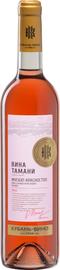 Вино столовое розовое полусладкое «Мускат-Красностоп серии Вина Тамани»