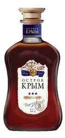 Коньяк российский «Остров Крым 3 звезды»