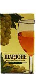 Вино столовое белое полусладкое «Виктория Торговый Дом Шардоне»