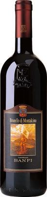 Вино красное сухое «Castello Banfi Brunello di Montalcino, 0.375 л» 2010 г.