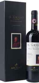 Вино красное сухое «Agricola San Felice Il Grigio Gran Selezione Chianti Classico» 2010 г., в подарочной упаковке