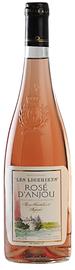 Вино розовое полусладкое «Les Vignerons de la Noelle Les Ligeriens Rose d'Anjou» 2013 г.