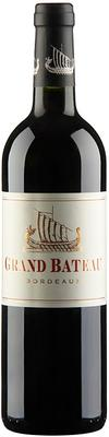 Вино красное сухое «Grand Bateau» 2014 г.