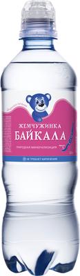 Детская вода  «Жемчужинка Байкала, 0.5 л»