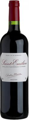 Вино красное сухое «Christian Moueix Saint-Emilion» 2012 г.
