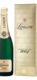 Шампанское белое сухое «Lanson Gold Label Brut Vintage» 2005 г. в подарочной упаковке