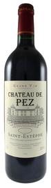 Вино красное сухое «Chateau de Pez» 2011 г.