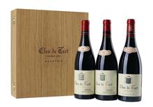 Вино красное сухое «Clos de Tart» в деревянном футляре