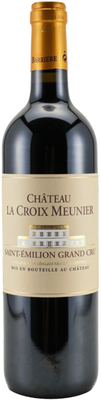 Вино красное сухое «Chateau la Croix Meunier» 2011 г.