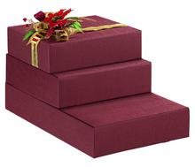 Коробка подарочная «Seta Bordeaux»