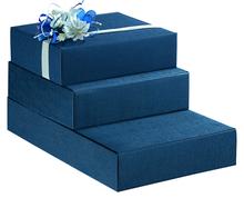 Коробка подарочная  «Juta Blu for 4 bottles»