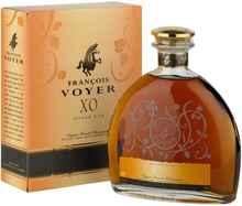 Коньяк «Francois Voyer XO» в подарочной упаковке.