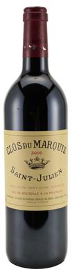 Вино красное сухое  «Clos du Marquis» 2002 г.