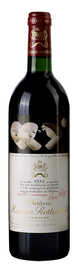 Вино красное сухое «Chateau Mouton Rothschild» 1986 г.