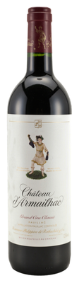 Вино красное сухое «Chateau d'Armailhac, 0.75 л» 2008 г.