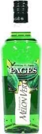 Ликер «Pages Melon Vert»