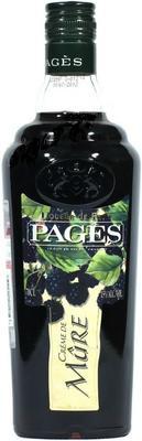 Ликер «Pages Creme de Mure»