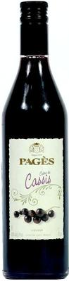 Ликер «Pages Creme de Cassis»