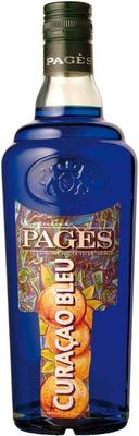 Ликер «Pages Curacao Bleu»
