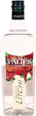 Ликер «Pages Litchi»
