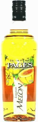 Ликер «Pages Melon»