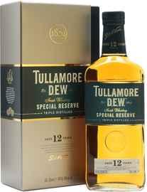 Виски ирландский «Tullamore Dew 12 years» в подарочной упаковке