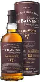 Виски шотландский «Balvenie Doublewood 17 Years Old» в тубе