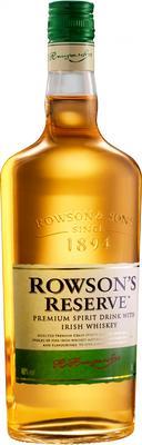 Напиток крепкий висковый «Rowson's Reserve, 0.5 л»