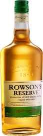 Напиток крепкий висковый «Rowson's Reserve, 0.7 л»