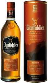 Виски шотландский «Glenfiddich Rich Oak 14 Years Old» в тубе