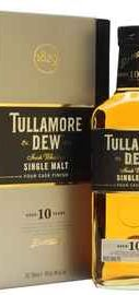 Виски «Tullamore Dew 10 Years Old» в подарочной упаковке