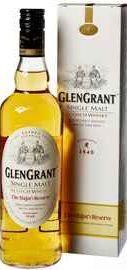 Виски шотландский «Glen Grant The Major's Reserve» в подарочной упаковке