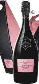 Шампанское розовое сухое  «Veuve Clicquot Grande Dame Rose» 2004 г., в подарочной упаковке
