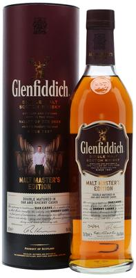 Виски шотландский «Glenfiddich Malt Master's Edition» в тубе