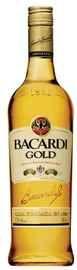 Ром «Bacardi Gold» в подарочной упаковке, в комплекте со стаканом, коктейльной ложкой и мерным стаканом