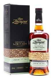 Ром «Zacapa Centenario Reserva Limitada» 2014 г., в подарочной упаковке