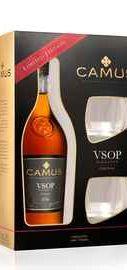 Коньяк «Camus Elegance VSOP » в подарочной упаковке + 2 стакана