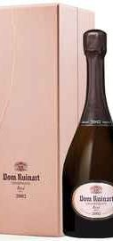 Шампанское розовое сухое  «Dom Ruinart Rose» 2002 г., в подарочной упаковке