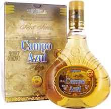 Текила «Campo Azul Anejo» в подарочной упаковке