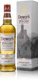 Виски шотландский «Dewar's White Label» в подарочной упаковке