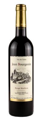 Вино столовое красное полусладкое «Jean Bourgeoin» производится под контролем Castel Freres SAS