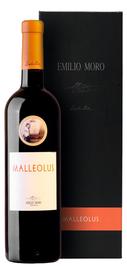 Вино красное сухое «Malleolus» 2011 г. в подарочной упаковке.