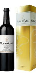 Вино красное сухое «Mouton Cadet Bordeaux Rouge» 2011 г. в подарочной упаковке.