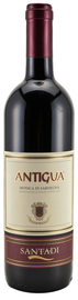 Вино красное сухое «Antigua» 2014 г.